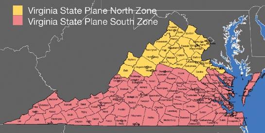 state plane coordinate zones image 17